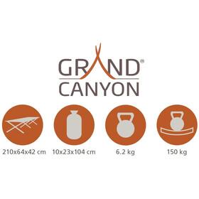 Grand Canyon Alu Camping Bed Ekstravahva L, olive